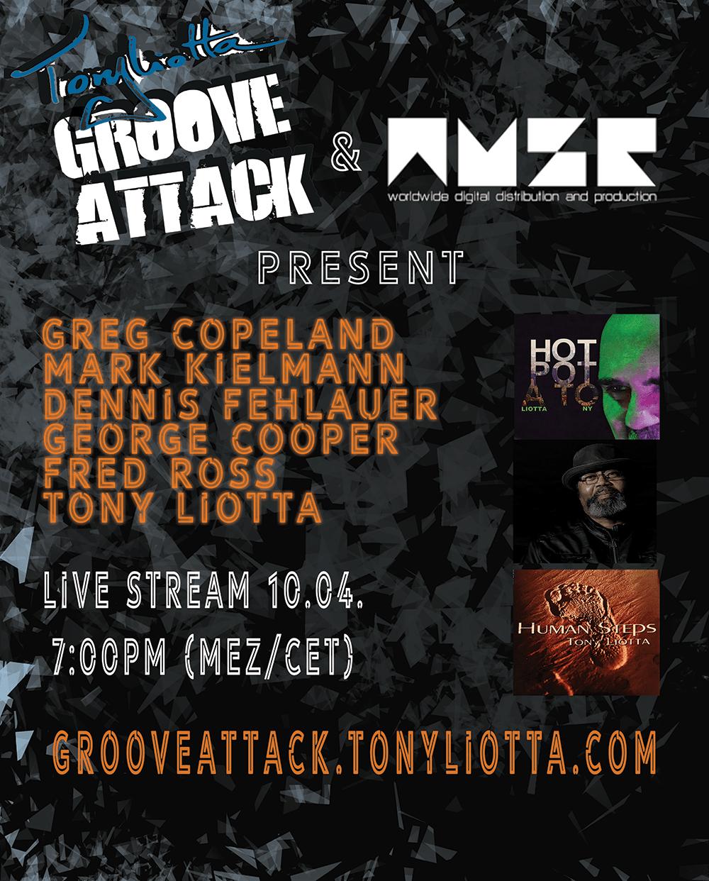 Groove Attack Tony Liotta